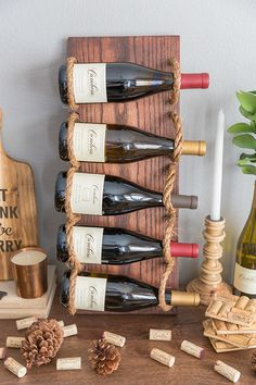 www.shelterness.com chic-diy-rustic-wine-rack pictures 41570