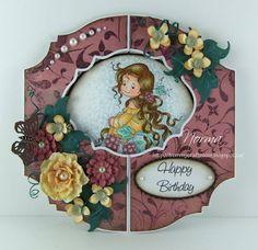 From My Craft Room: Birthday Gate-fold/Window Card