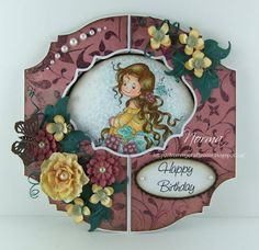 Birthday Gate-Fold/Window Card