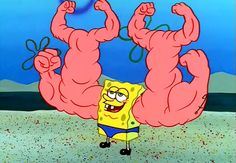 LOL Wow his muscles even have muscles.  more funny pictures at:  http://www.bmicalculator.cc/memes