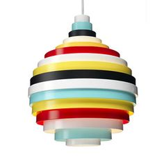Zero PXL Pendant Lamp by Fredrik Mattson - 908USD  #multicolore #metal  #industriel  playroom
