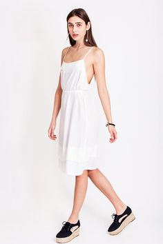 White flowy summer dress from Dott. It can get really hot during the summer in Croatia, and therefore we just love light and flowy dresses. How about you? A walk in the city can get really uncomfortable if you're not wearing the appropriate clothes in the sizzling hot sun. The white dress from Dott. is from the collection Otherwise and is perfect for those summer shopping days or the hot summer nights out.    €135.00 REPIN TO YOUR OWN INSPIRATION BOARD White Flowy Dress, Flowy Summer Dresses, Shopping Day, Piece Of Clothing, White Style, Summer Nights, Croatia, Night Out, Feminine