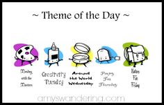 Using a theme of the day in your homeschool