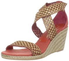 Shoe Heel Open Toe Espadrille by Jean Michel Cazabat - Antonella Open Toe Wedge