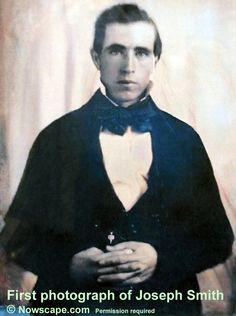 Joseph Smith Jr. ~ First Prophet of the Church of Jesus Christ of Latter-day Saints
