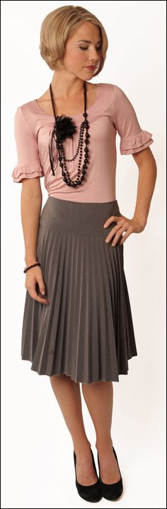 MIKAROSE Pleated Skirt     MISSIONARY SKIRT     www.mikarose.com      Read blog: http://mikarose.com/blog/wp-admin/post.php?post=469=edit=1