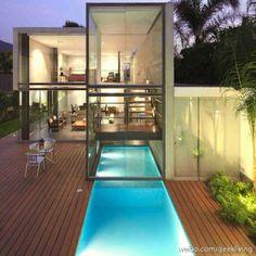 Indoor & Outdoor pool, perfect!