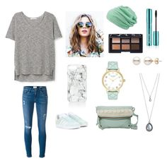 Mint by jaydengonz on Polyvore featuring polyvore, fashion, style, MANGO, Frame, adidas Originals, T-shirt & Jeans, Kate Spade, Forever 21, Rebecca Minkoff, maurices, NARS Cosmetics and clothing