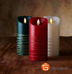 Luminara Real Wax Flameless Candles | ... Luminara,Battery Operated Candles With Timer,Led Candles With Real
