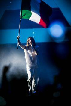 Thirty Seconds To Mars .-  Rome #RockInRome .- 20-06-2014 #LoveLustFaithDreamsTour (via http://www.onstageweb.com/foto-concerto/30-seconds-to-mars-roma-20-giugno-2014-foto/