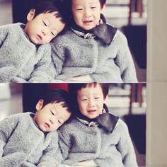adorable twin, love them so much #leetwin #seojun #seoeon