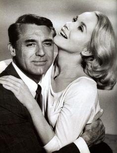 Cary Grant an Eva Marie Saint