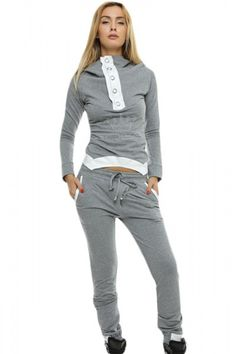 Grey Street Fashion Hooded yoga pants Jogging Suit. Super trendy everyday look in the Black Street Fashion Hooded Jogging Suit . This hoodie is a perfect layering piece for women of various ages. Hooded sweatshirt with slim fit pants dropship together. This trendy jogging suit is suitable for informal occasions, you can wear it in daily or doing sports. Size Chart …