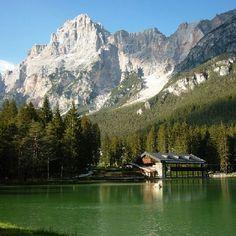 Lago di Mosigo San Vito di Cadore Belluno Dolomiti Veneto Italia