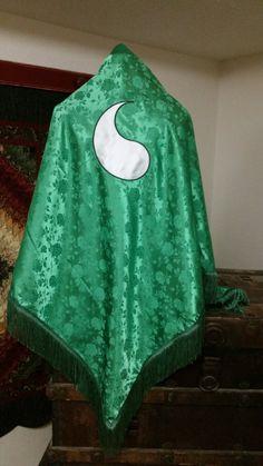 Green Ajah Aes Sedai Wheel of Time Inspired by enchantedkingdom