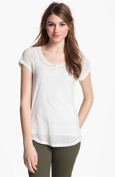 Caslon Stripe Tee available at #Nordstrom