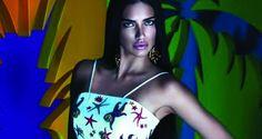 Adriana Lima, imagen de la colección low cost de Versace para Riachuelo   Moda Book Magazine   Tu portal de moda,belleza y lifestyle
