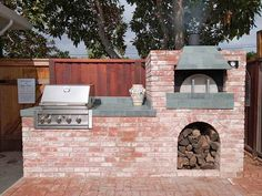 48 Top Outdoor Wood Fired Pizza Oven And Bbq Combo Images Outdoor