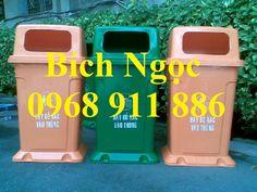 Thùng rác công cộng, xe rác 660l,sóng nhựa, rổ nhựa , khay nhựa giá rẻ - Giá 2.000đ