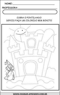 Atividades de Treino da Coordenação Motora | Cantinho do Educador Infantil Five Senses Preschool, Preschool Writing, Kindergarten Worksheets, Educational Games For Kids, Kids Learning Activities, Preschool Activities, Pre Writing Practice, English Grammar For Kids, Drawing Lessons For Kids