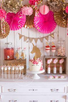 Einhorn-Geburtstagspart von meiner Tochter, my daughters unicorn birthday party