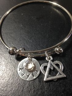 Adoption Bracelet By Personalstampjewelry On Etsy