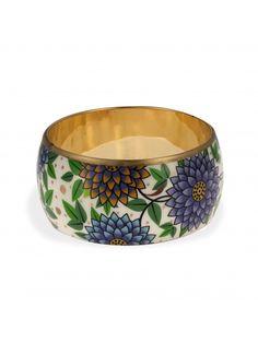 Bracelet manchette motifs fleuris   Bala Boosté