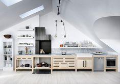 Geometric Rooftop Penthouse in Stockholm / Carouschka Streijffert