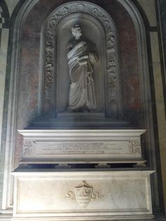 """Giuseppe Giusti - tomba. Могила поэта Джузеппе Джусти, в """"Сан-Миньято аль Монте"""" во Флоренции"""