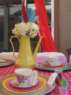 The Look Party and Events-Alice in Wonderland-Mad Hatter Tea Party