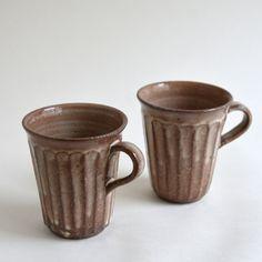 Shinogi Kohiki Mug Cup しのぎ粉引マグ / 三宅史家 Fumika Miyake - nem