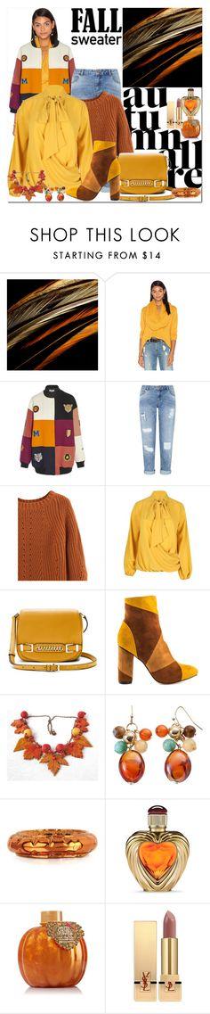 """Fall Sweater"" by ann-kelley14 ❤ liked on Polyvore featuring TY-LR, STELLA McCARTNEY, Miss Selfridge, Diane Von Furstenberg, Cape Robbin, MM6 Maison Margiela, Victoria's Secret and Yves Saint Laurent"