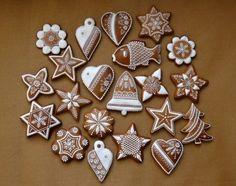 Christmas Gingerbread, Diy Christmas Ornaments, Christmas 2016, Felt Ornaments, Gingerbread Cookies, Christmas Cookies, Christmas Time, Christmas Decorations, Holiday