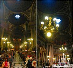 The interior of La Madeleine