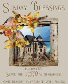 Serve The Lord With Gladness sunday sunday quotes sunday blessings sunday images Sunday Images, Good Morning Inspiration, Sunday Love, Psalm 100, Tumblr Image, Serve The Lord, Sunday Quotes, Have A Blessed Day, Facebook Image