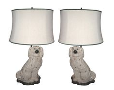 Staffordshire Dog Lamps