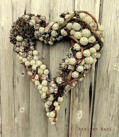 Heart Wreath!!! Bebe'!!! Love the wreath!!!