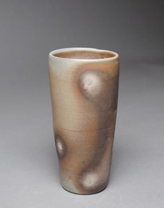 Tumbler Wine Cup Wood Fired D52 by JohnMcCoyPottery on Etsy