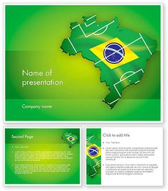 http://www.poweredtemplate.com/12200/0/index.html Brazil Flag Map with Football Field PowerPoint Template