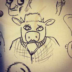 Random doodle #doodle #drawing  #scribble