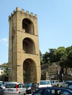 Porta San Niccolo, Florence, Italy by Jean-Paul Lauwereys