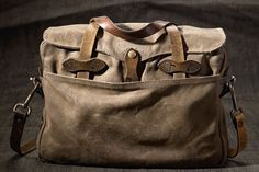 Set to launch on November 17, 2014, the Filson Restoration Department (FRD) renovates vintage Filson items into one-of-a-kind bags and pouches.