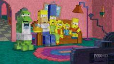 Simpsons + Minecraft