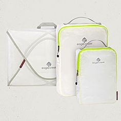 In love with the Eagle Creek packing cubes!! Pack-It Specter™ Starter Set - Pack It Specter | Official Eagle Creek Website