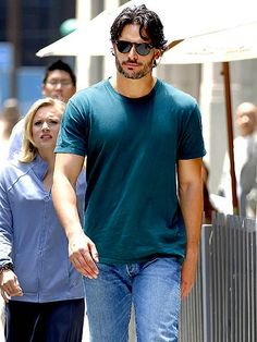 True Blood hunk Joe Manganiello