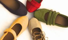 Women's Sewing Pattern for Outdoor Soft Soled Shoes Footwear PDF Pattern