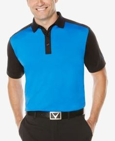 Callaway Men's Big & Tall Colorblocked Performance Polo -
