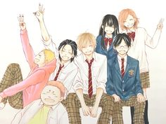 Kono Oto Tomare, Tsubaki Chou Lonely Planet, Cute Romance, Haikyuu Volleyball, Kimi Ni Todoke, Rain Suit, Life Tv, Kato, Disney Fan Art
