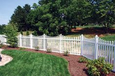 Superior Plastic Products-Photo Gallery of our Vinyl Fence, Porch & Deck Railing Installations Vinyl Railing, Deck Railings, Vinyl Picket Fence, Decks And Porches, Stepping Stones, Photo Galleries, Plastic Products, Fences, Outdoor Decor