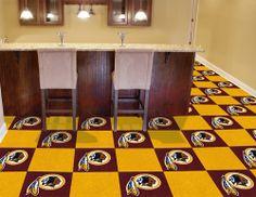 Washington Redskins NFL Fanmats Carpet Tiles